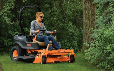 How to Operate a Lap Bar Zero Turn Mower