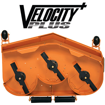 VELOCITY PLUS cutter deck size